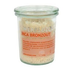 Esspo Wereldzout Inca Bronzalt Glas 140 Gramm