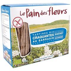 Pain Des Fleurs Buchweizencracker ohne Salz 150 Gramm