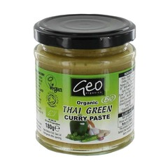 Geo Organics Curry Paste Thai grün 180 Gramm