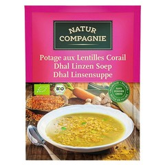 Natur Compagnie Dhal Linsensuppe 60 Gramm