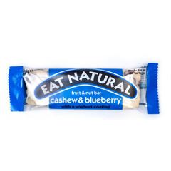 Eat Natural Essen Sie natürlichen Cashew-Heidelbeer-Joghurt 45 Gramm