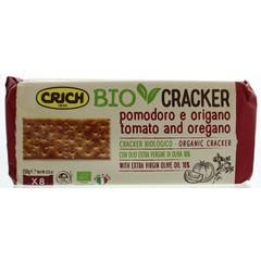 Crich Crackers Tomaten Origano grün 250 Gramm