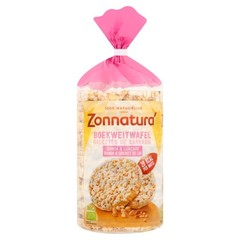 Zonnatura Buchweizenwaffeln mit Quinoa 100 Gramm