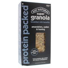 Eat Natural Essen Sie natürliches Granola Superprotein 400 Gramm