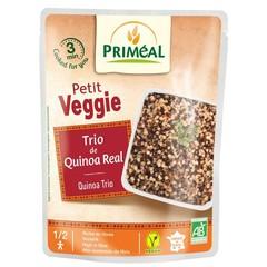 Primeal Petit Veggie Quinoa gekochtes Trio 220 Gramm