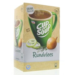 Cup A Soup Tasse A Suppe Rinderbrühe 26 Beutel