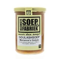 Kleinstesoepfabr Kleinste Suppenfabrik Gulaschsuppe 400 ml