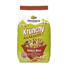 Barnhouse Krunchy Amaranth Dinkel Mandel 375 Gramm