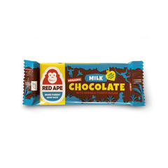 Red Ape Milk Schokolade Arenga Zucker 45 Gramm
