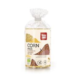Lima Corn Waffeln mit Leinsamen 130 Gramm