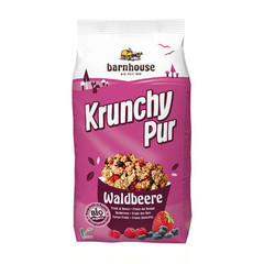 Barnhouse Krunchy Pur Heidelbeere 375 Gramm