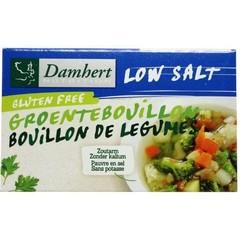 Damhert Gemüsebrühe Tablette salzarm 64 Gramm