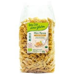 Ma Vie Sans Penne Mini Halbvollkorn Bio - glutenfrei 500 Gramm