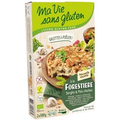 Ma Vie Sans Champigonburger Kichererbsen bio - glutenfrei 100g 2 Stück