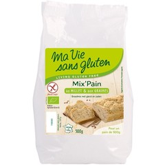 Ma Vie Sans Brotmehl mit Hirse und Samen bio - glutenfrei 500 Gramm