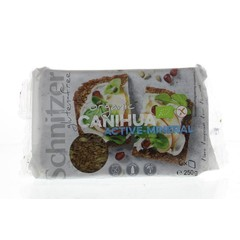 Schnitzer Canijoa Brot mit Kürbiskernen 250 Gramm