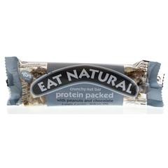 Eat Natural Protein mit Erdnuss und Schokolade 45 Gramm verpackt