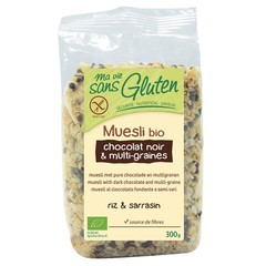 Ma Vie Sans Muesli Schokolade und mehrkörniges glutenfreies 300 Gramm