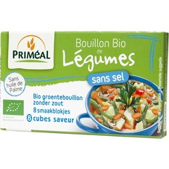 Primeal Gemüsebrühe Würfel ohne Salz 9 Gramm 8 Stück