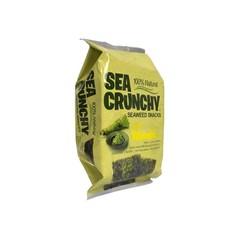 Sea Crunchy Nori Seetang Snacks Wasabi 10 Gramm