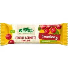 Allos Fruchtriegel Cranberry 30 Gramm