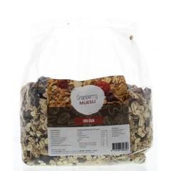 Mijnnatuurwinkel Cranberries Müsli 1 Kilogramm