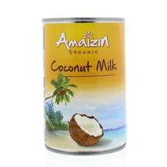 Amaizin Kokosmilch ohne Guarkernmehl 400 ml