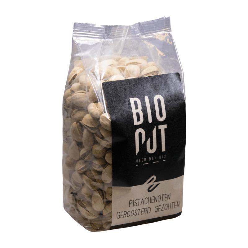 Bionut Bionut Pistazien geröstet und gesalzen 500 Gramm