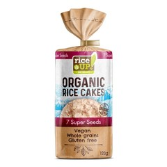 Rice-Up Reiscracker mit 7 Supersamen, 100 Gramm