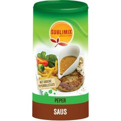 Sublimix Pfeffersoße glutenfrei 240 Gramm