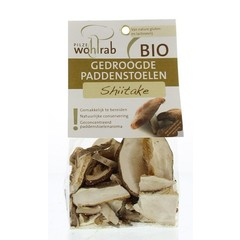 Pilze Wohlrab Shiitake getrocknet 20 Gramm