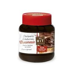 De Rit Chocoreale Schokoladenaufstrich rein mit Rohrzucker 350 Gramm