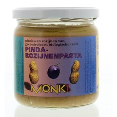 Monki Erdnuss Rosinenpaste Eko 330 Gramm