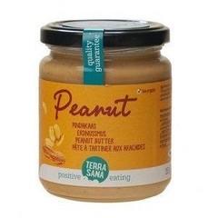 Terrasana Erdnussbutter fein ohne Salz 250 Gramm