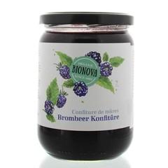 Bionova Blackberry Marmelade Familientopf 600 Gramm