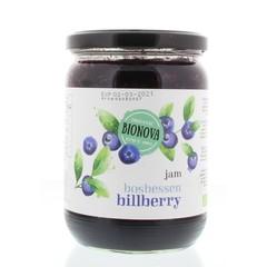 Bionova Blueberry Marmelade Familienglas 600 Gramm