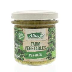 Allos Farm Gemüse Erbsen & Basilikum 135 Gramm