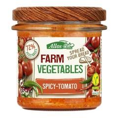 Allos Farm Gemüse würzige Tomate 135 Gramm