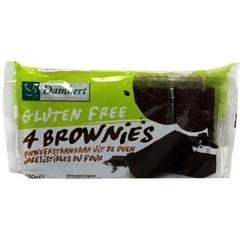 Damhert Brownies glutenfrei 190 Gramm
