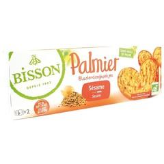 Bisson Palmier Blätterteiggebäck Sesam 100 Gramm