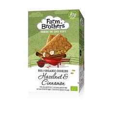 Farm Brothers Haselnuss & Zimt Kekse 150 Gramm