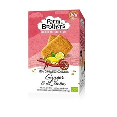 Farm Brothers Ingwer & Zitronen Kekse 150 Gramm