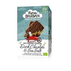 Farm Brothers Chocolate mit Meersalzplätzchen 150 Gramm