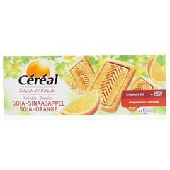 Cereal Getreideplätzchen Soja / Orange 280 Gramm