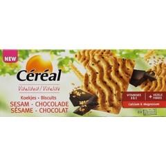 Cereal Getreideplätzchen Sesamschokolade 200 Gramm