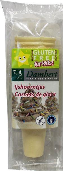 Damhert Damhert Eistüten glutenfrei 25 Gramm