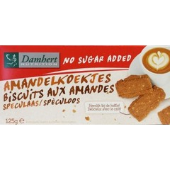 Damhert Damwild-Mandelgebäck 125 Gramm