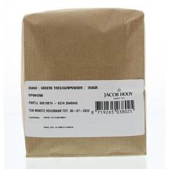 Jacob Hooy Grüner Tee / Schießpulver 250 Gramm