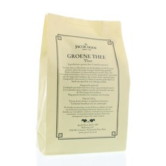 Jacob Hooy Grüner Tee (gelber Beutel) 200 Gramm