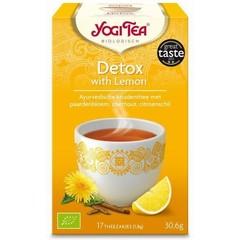 Yogi Tea Detox mit Zitrone 17 Beutel